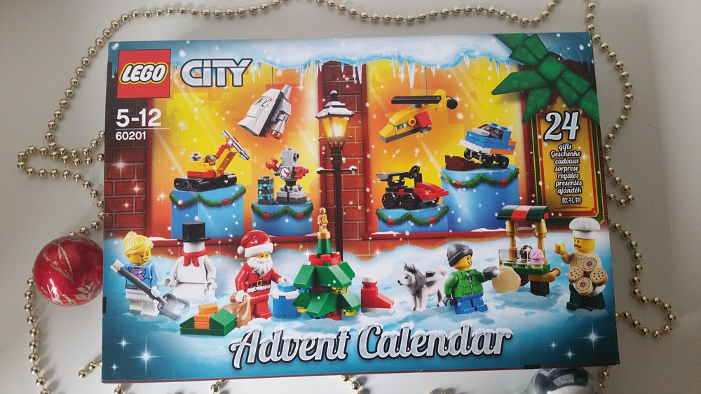 Lego Adventskalender City 2018