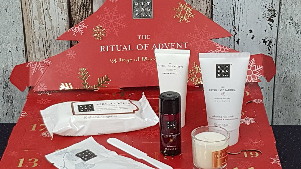 Rituals Adventskalender Türchen