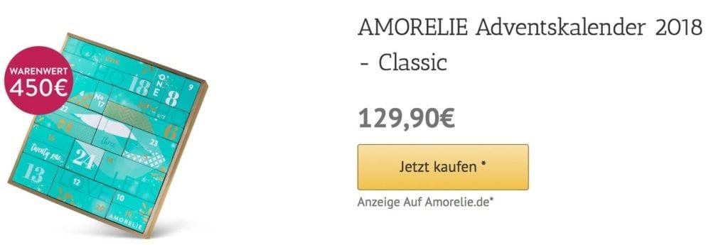 Classic Amorelie Adventskalender 2018