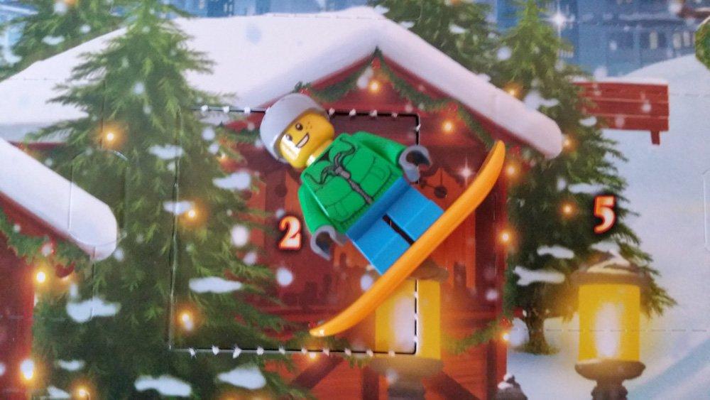 Lego Adventskalender Skifahrer