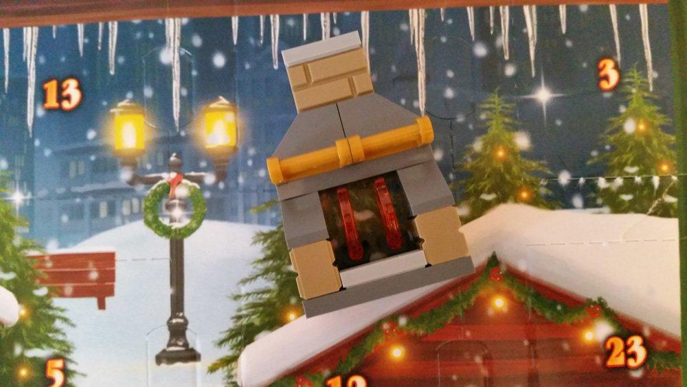 Lego Adventskalender Kamin