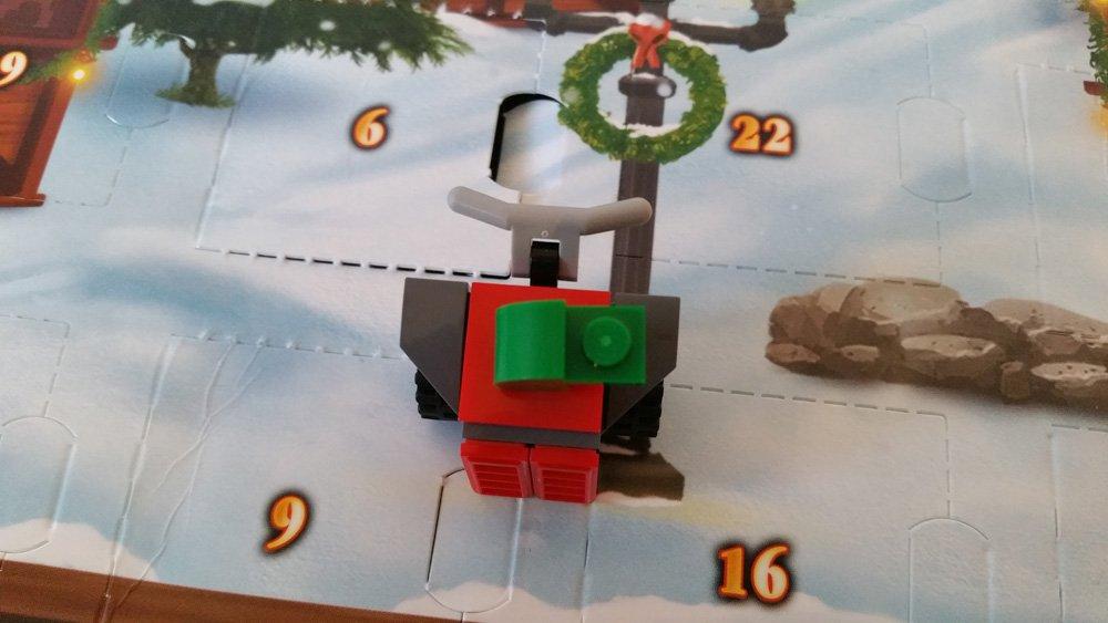 Lego Adventskalender Schneefräse