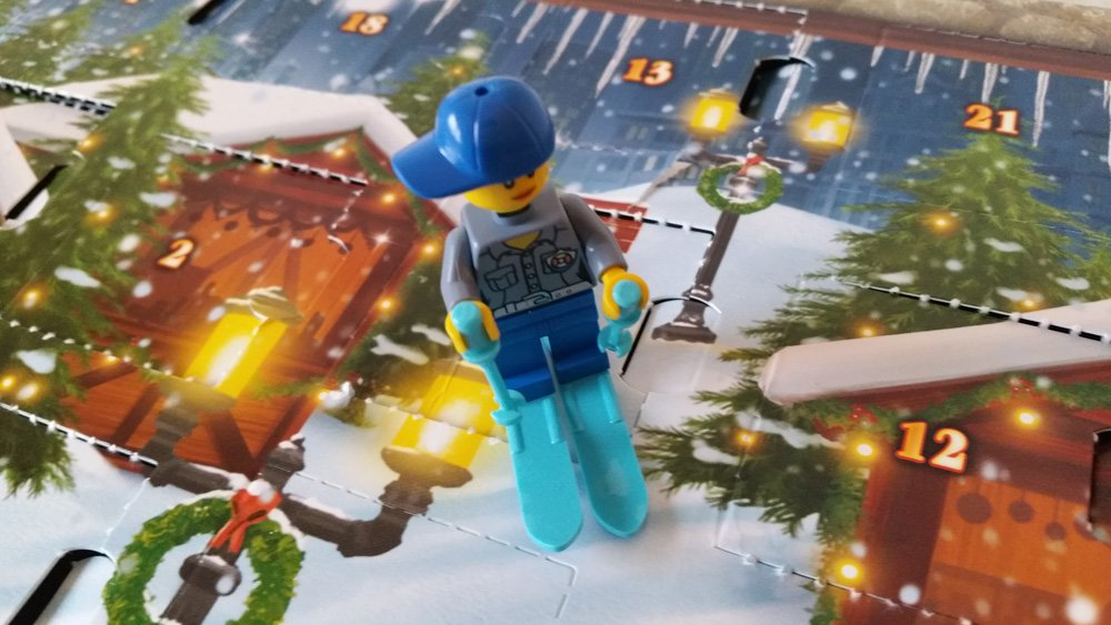 Lego Adventskalender Skifahrerin