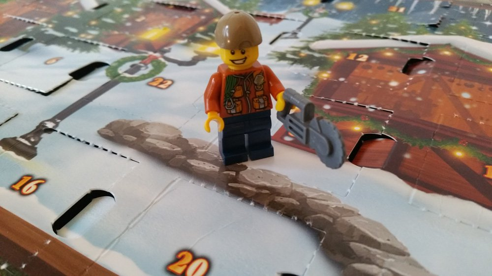 Lego Waldarbeiter