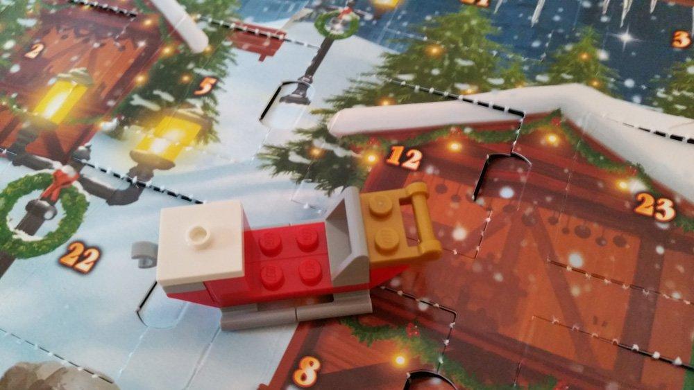 Lego Adventskalender Schlitten