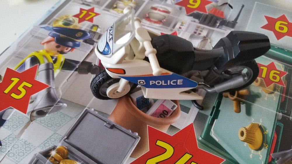 Polizeimotorrad