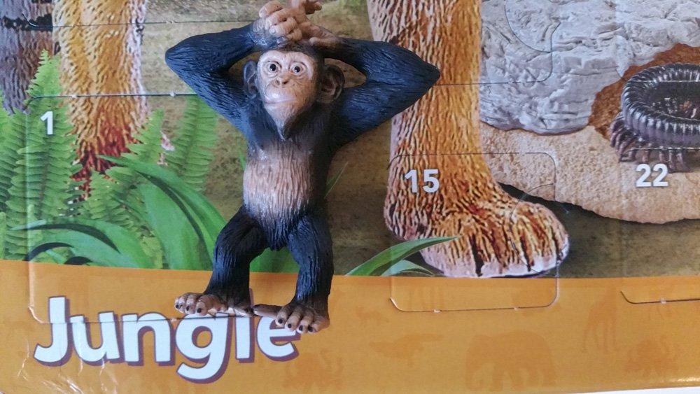 Schleich Adventskalender Affe