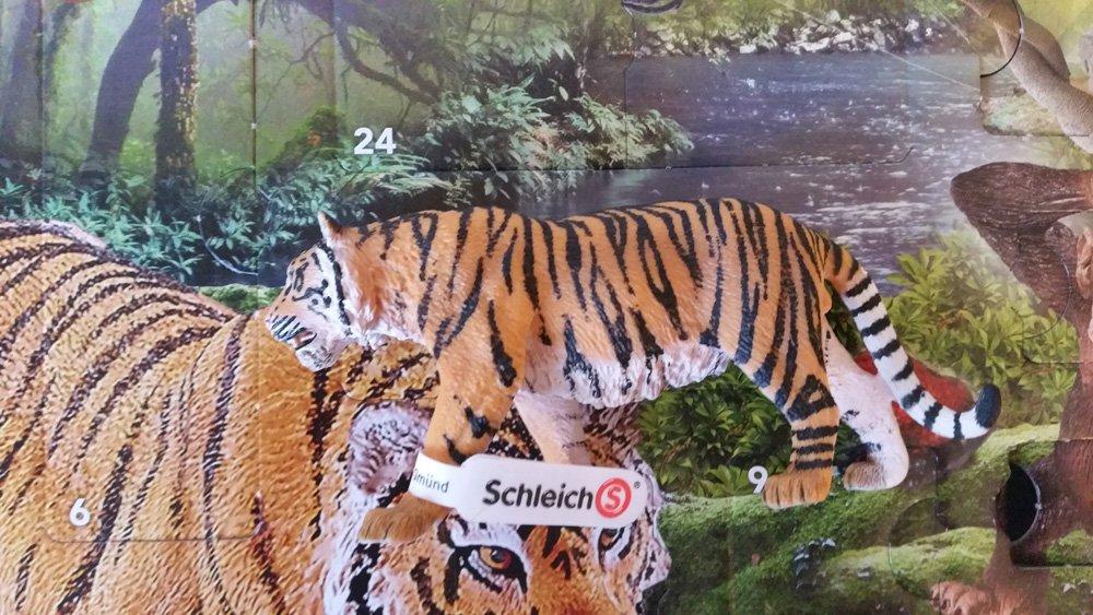 Schleich Adventskalender Tiger