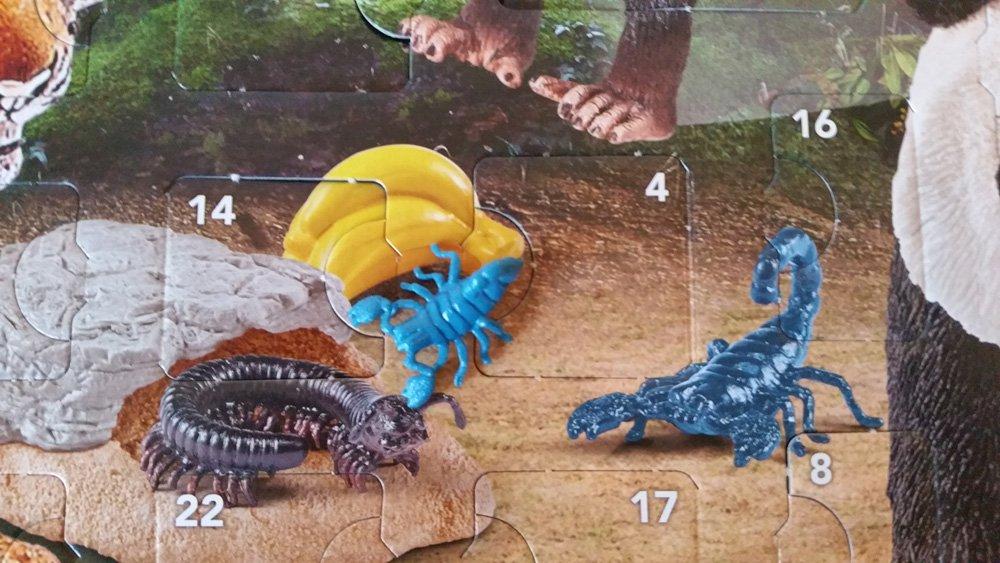 Schleich Adventskalender Skorpion