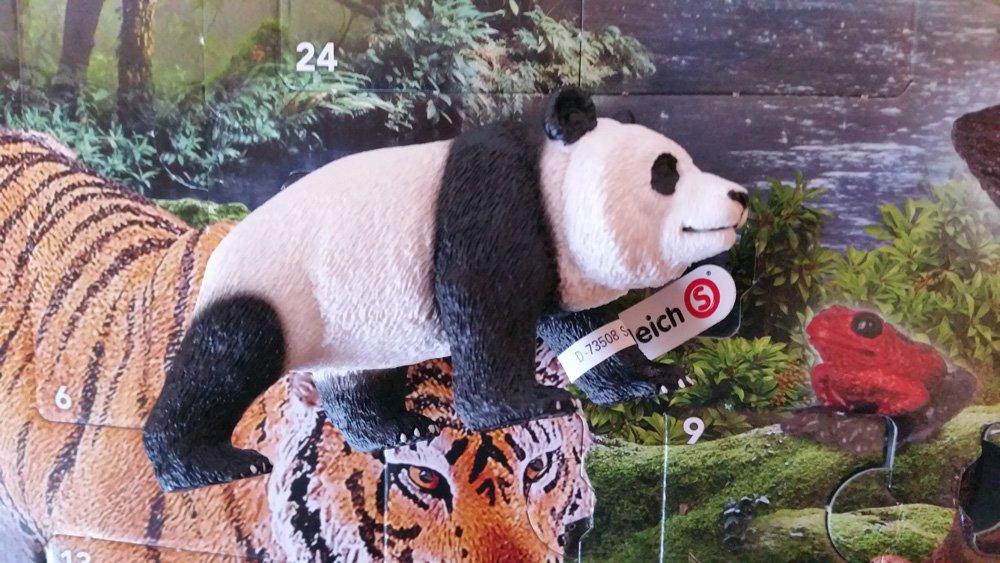 Schleich Adventskalender Panda