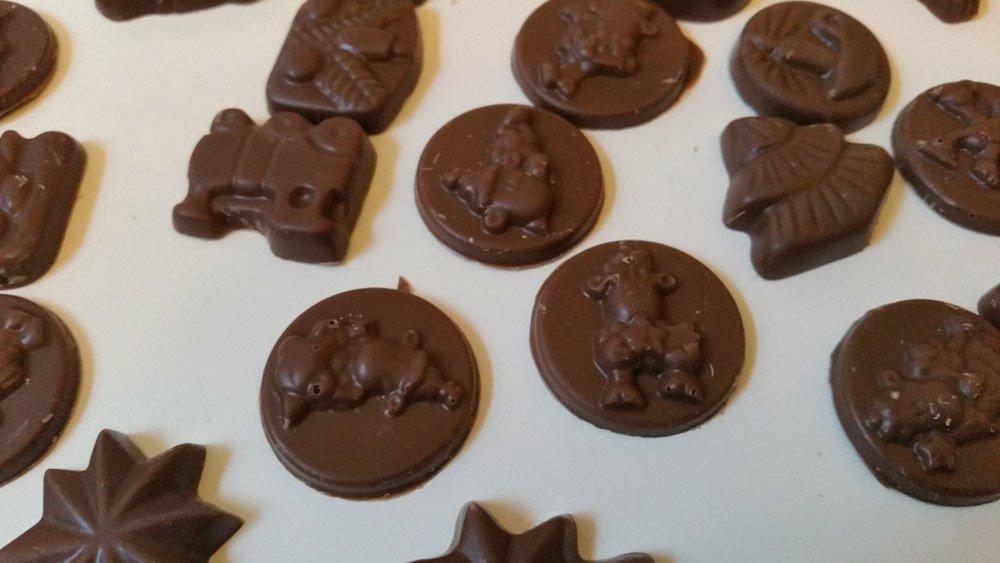 Schokolade Adventskalender