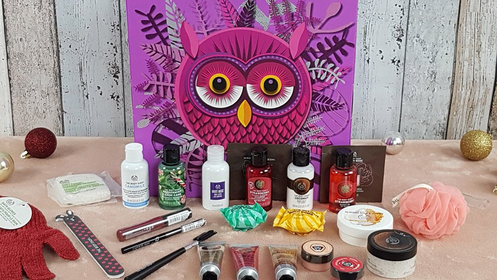 Body Shop Adventskalender 2018