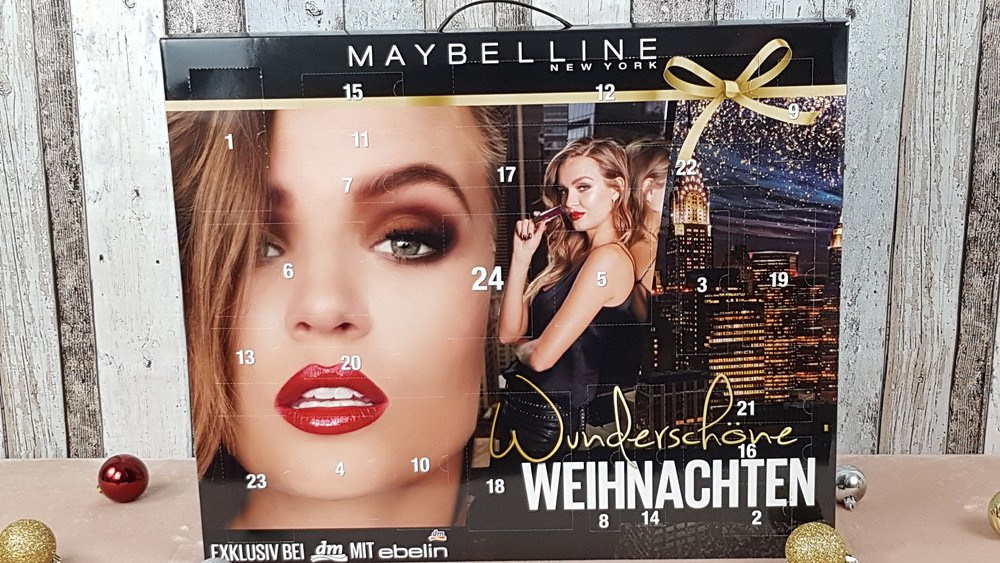 Maybelline Adventskalender DM