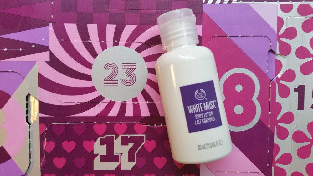 Body Shop Adventskalender 23
