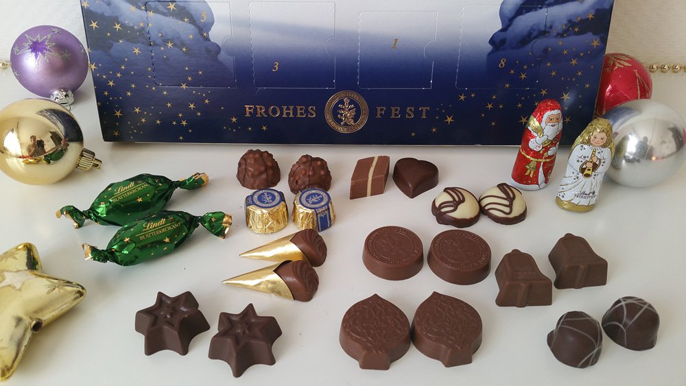 Lindt Adventskalender Inhalt