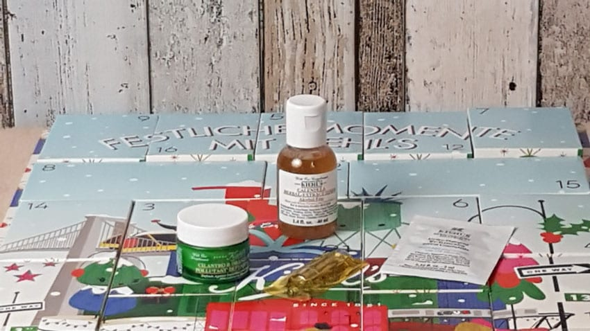 Kiehls Adventskalender 8-12