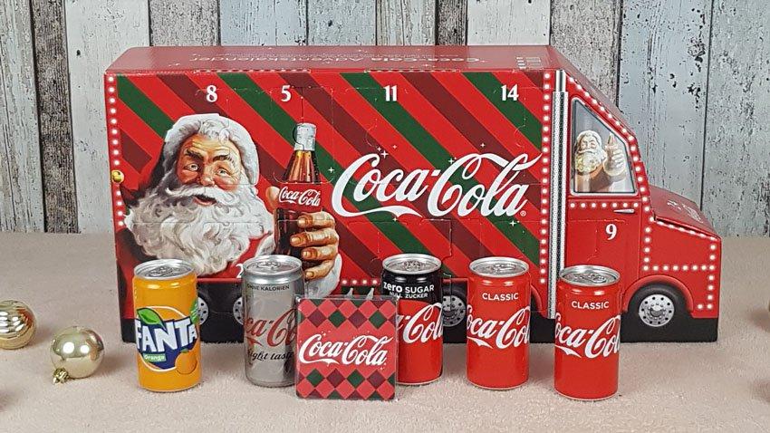 Coca Cola Adventskalender 1-6