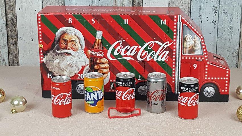 Coca Cola Weihnachtskalender