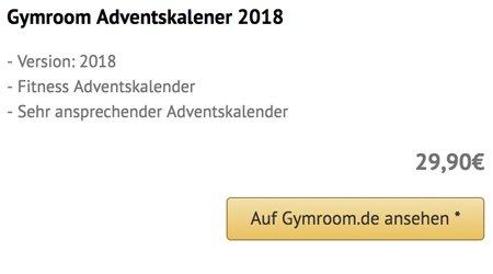 Gymroom Adventskalender 2018