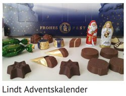 Lindt Adventskalender Side