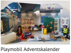 Playmobil Adventskalender Side